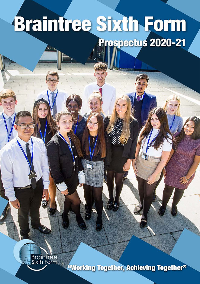 Braintree Sixth Form Prospectus 2020-21